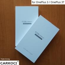 Защитное стекло Carkoci (Triple Strong) для смартфона OnePlus 3 / OnePlus 3T, закалённое стекло, бронированное стекло, 9H, антибликовое покрытие, олеофобное покрытие, жидкость liquid, Киев