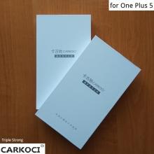 Защитное стекло Carkoci (Triple Strong) для смартфона OnePlus 5, закалённое стекло, бронированное стекло, 9H, антибликовое покрытие, олеофобное покрытие, жидкость liquid, Киев