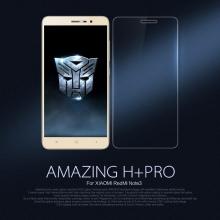 Защитное стекло Nillkin H+Pro для смартфона Xiaomi RedMi Note 3 / RedMi Note 3 Pro, закалённое стекло, бронированное стекло, 9H, толщина 0,2 мм, 2,5D, 2.5D, антибликовое покрытие, олеофобное покрытие, Киев