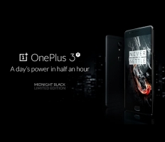 Embedded thumbnail for OnePlus 3T Midnight Black (промо видео)